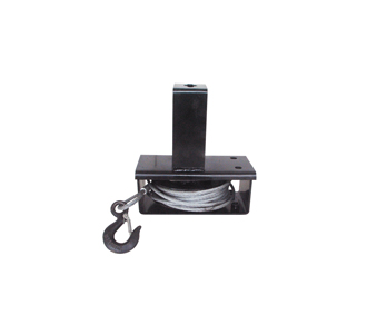 B08 Spare wheel carrier-Commercial vehicle Bus wire